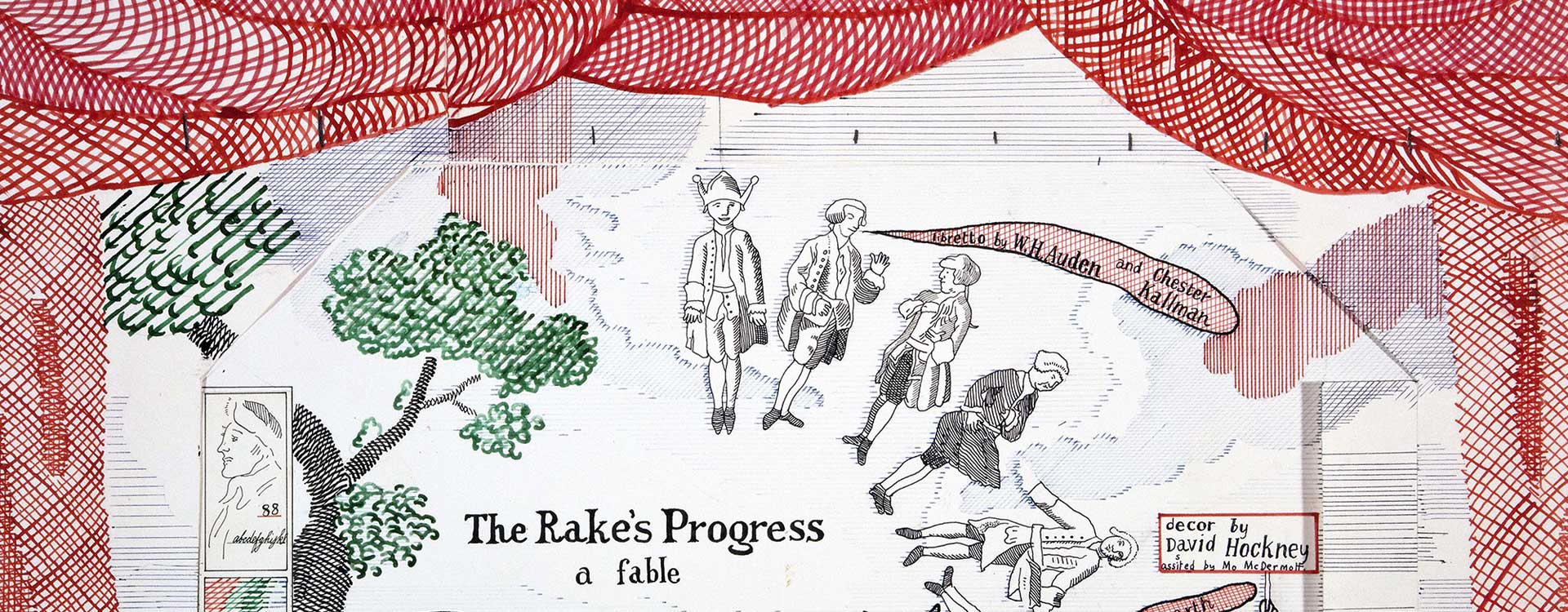 The Rake's Progress Collection by David Hockney
