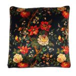 The Night Rose Large Cushion
