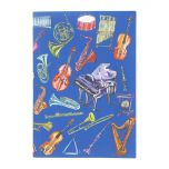 Glyndebourne 'Orchestra' A5 Notebook by Charlotte Posner