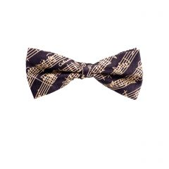 Musical Notes Silk Bow Tie