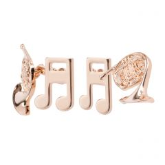 Glyndebourne French Horn & Music Note Cufflinks