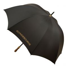 Glyndebourne Black & Gold Golf Umbrella
