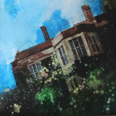A Spring Morning at Glyndebourne House by Julian Sutherland-Beatson