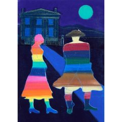 Anne Trulove and her Rake (2020) Etching, E.V 3/35 by Tom Hammick