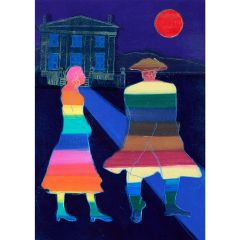 Anne Trulove and her Rake (2020) Etching, E.V 5/35 by Tom Hammick