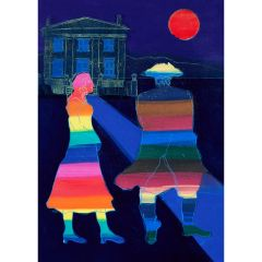Anne Trulove and her Rake (2020) Etching, E.V 6/35 by Tom Hammick