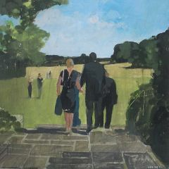 Audience Arriving by Julian Sutherland-Beatson