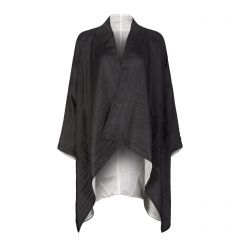 Black Silk Gil Coat