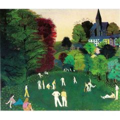 The Cricket Match Greetings Card