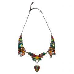 Large Jewelled Butterfly Necklace
