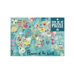 Flowers of the World Jigsaw Puzzle