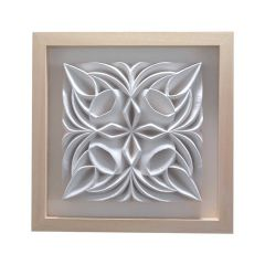 Godetia Tile by Halima Cassell