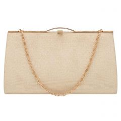 Vintage Japanese Gold Frame Clutch Bag