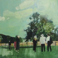 In the Gardens by the Lake by Julian Sutherland-Beatson