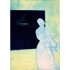 Konstanze's Lookout (2020) Etching, E.V 2/35 by Tom Hammick