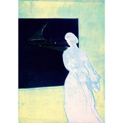Konstanze's Lookout (2020) Etching, E.V 3/35 by Tom Hammick