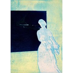 Konstanze's Lookout (2020) Etching, E.V 4/35 by Tom Hammick
