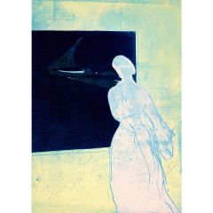 Konstanze's Lookout (2020) Etching, E.V 5/35 by Tom Hammick