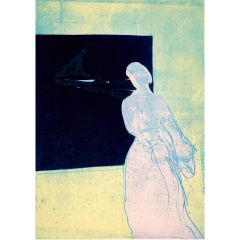 Konstanze's Lookout (2020) Etching, E.V 6/35 by Tom Hammick