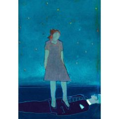 Leonora's Courage (2021) Etching, E.V 2/35 by Tom Hammick