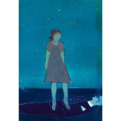 Leonora's Courage (2021) Etching, E.V 3/35 by Tom Hammick
