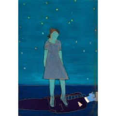 Leonora's Courage (2021) Etching, E.V 4/35 by Tom Hammick