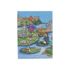 Glyndebourne 'Lily pad' A6 Notebook by Charlotte Posner
