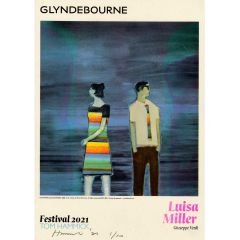 Luisa Miller Limited Edition Signed Poster by Tom Hammick