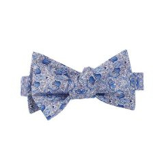 William Morris Anemones Silk Self-Tie Bow Tie