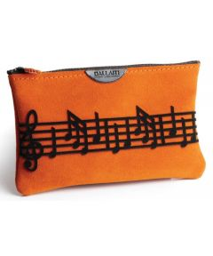 Suede Music Score Pouch