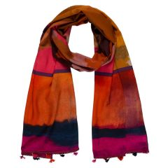 Orange & Red Scarf