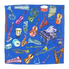 Glyndebourne 'Orchestra' Pocket Square by Charlotte Posner