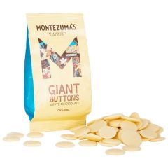 Organic Giant White Chocolate Buttons
