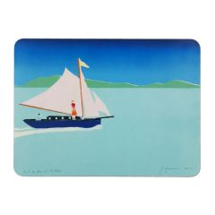 'Out of Blue' Set of 4 Placemats by Tom Hammick