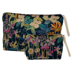 Pavillion Gardens - Velvet Clutch & Purse Set