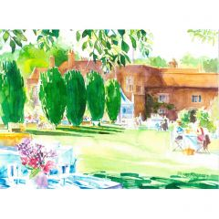 In the Shade of the Yews Greetings Card