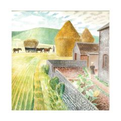 Garden Flowers on Cottage Table and Furlongs Notecards