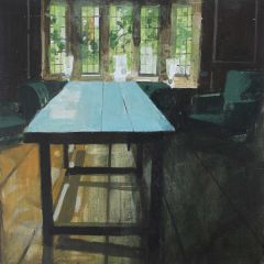 Table in the Old Green Room by Julian Sutherland-Beatson