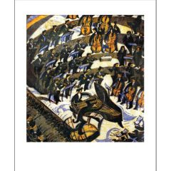 The Concerto, 1935 Greetings Card