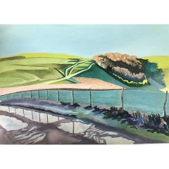 The Downs at Glyndebourne by Rosie Lascelles