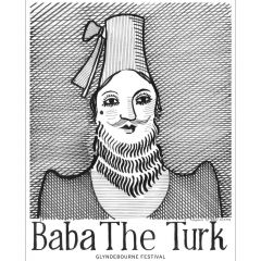 Baba The Turk Poster by David Hockney