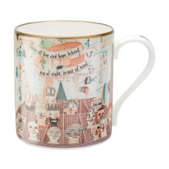 'Bedlam' Mug by David Hockney