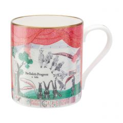 'Drop Curtain' Mug by David Hockney