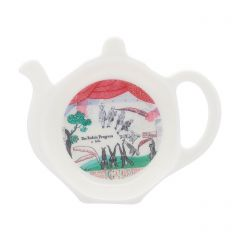 'Drop Curtain' Tea Bag Tidy by David Hockney