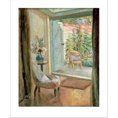 View into the Garden, 1926 Greetings Card