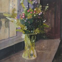 Winter Berries in the Old Green Room by Julian Sutherland-Beatson