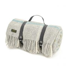 Wool Strapped Picnic Blanket